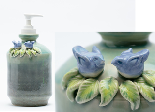 Bluebird Soap Dispenser