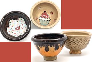 Ice Cream & Cupcake Bowls