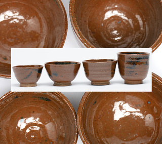 Set of 4 Small Spice/Sauce Bowls
