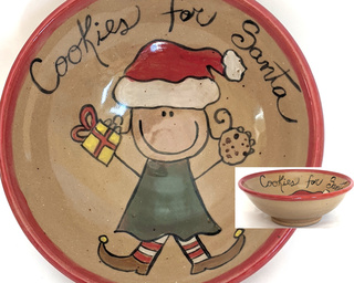 Cookies for Santa Bowl