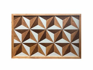 11.  Handcrafted Wooden Wall Art