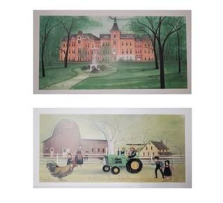 19.  P. Buckley Moss Prints