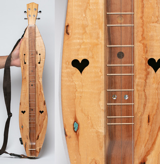 Handmade Dulcimer by Hickory Haven Dulcimers