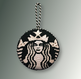 A Starbucks Inspired Needlepoint Ornament & $20 Gift Card