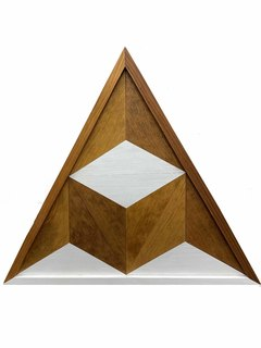 40.  Wooden Wall Art - Triangle