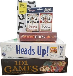 47.  Game Night for Grown-Ups