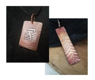 48.  Handcrafted Copper Necklaces