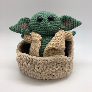 "Star Wars Inspired ""The Child"" Crochet Plush"