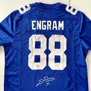NY Giants Evan Engram Autographed Jersey