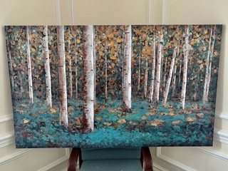 Autumn in the Forest Canvas Painting