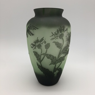 "A ""Galle"" Style Vase"