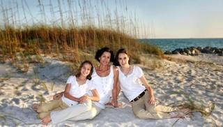 One Family Beach Portrait Session at John U Lloyd Beach Park