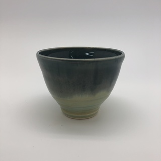 Light Green with Blue Ombre Bowl
