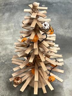 Item L - Wooden Tree