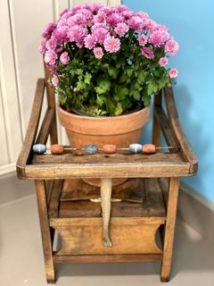 Item U - Antique Chair Planter