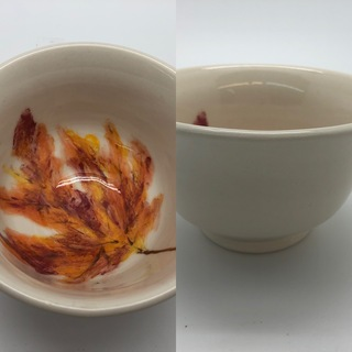 Fall Leaf Bowl
