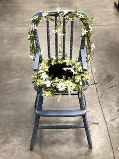 Item V - Decorative Antique High Chair