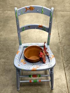 Item Y - Koi Pond Planter Chair