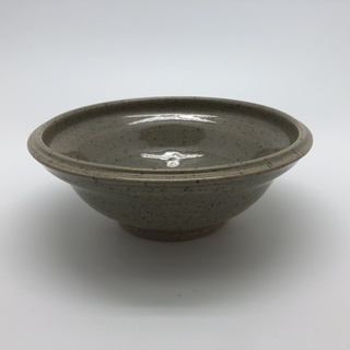 Khaki Speckled Clay Bowl