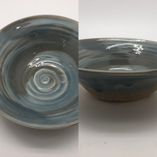 Blue Marbled Bowl