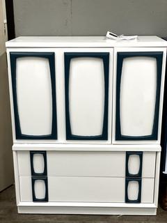 Item ZS - Refinished Mid-Century Modern Dresser