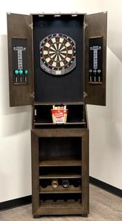 Item ZZH - Dartboard & Bar Cabinet