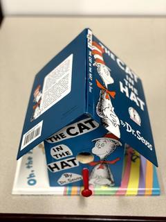 Item ZZM - Custom Dr. Seuss Book Birdhouse