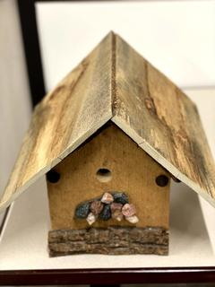 Item ZZN - Handcrafted Birdhouse