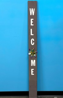 Item ZZQ - Welcome Sign