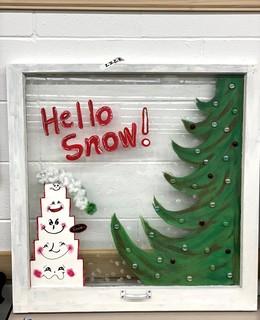 Item ZZZE - Holiday Window