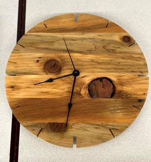 Item ZZZL - Handcrafted Contemporary Clock