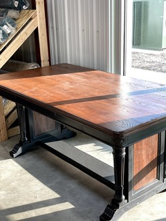 Item ZZZX - Farmhouse Style Table