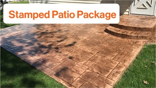 Stamped Concrete Package