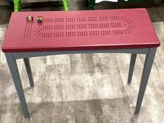 Item ZZZZC- Cribbage Board Table Top