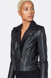 Women's Designer Leather Jacket (Size XS)