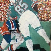*Dolphins Duper Painting