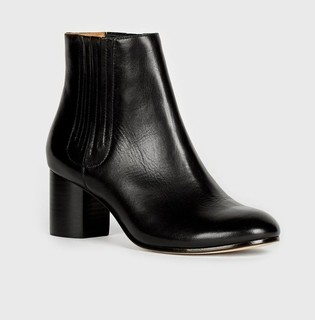 Women's Designer Leather Boots (SIZE 37.5/US 7.5)