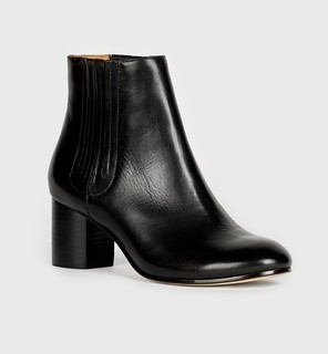 Women's Designer Leather Boots (SIZE 39/US 9)