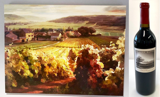 Tuscany Painting & Wine