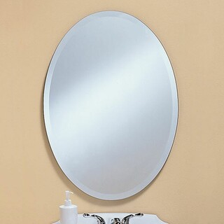 Beveled Oval Mirror - Donated by Heartland Glass