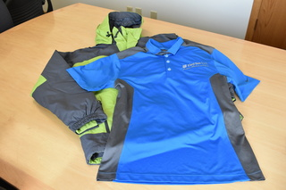 Nike Golf Shirt & Port Authority Jacket (Size Small) from Thermo-Tech