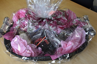 Wine & Chocolate Gift Basket - Donated by Tri-County Abstract
