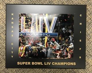 Super Bowl LIV Celebration Plaque