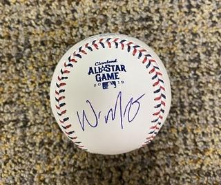Whit Merrifield All Star Games Signed Baseball
