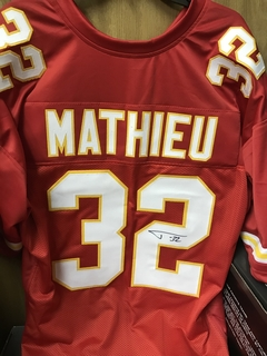 Tyrann Mathieu Signed Jersey