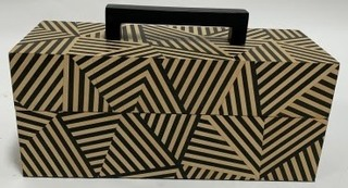 Hand Inlaid Wood Marquetry Box