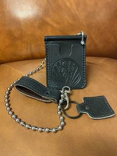 Anvil Leather Money Clip Wallet w/ Chain