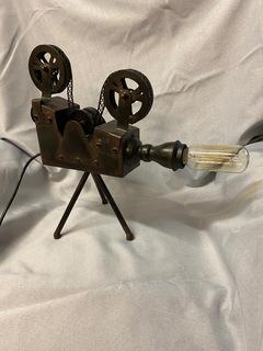 Movie Reel Lamp w/ Dimmer