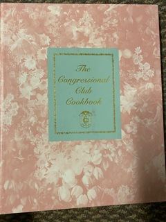 Congressional Club Cookbook