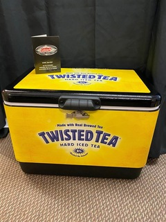 Twisted Tea Coleman Steel Belted Cooler
